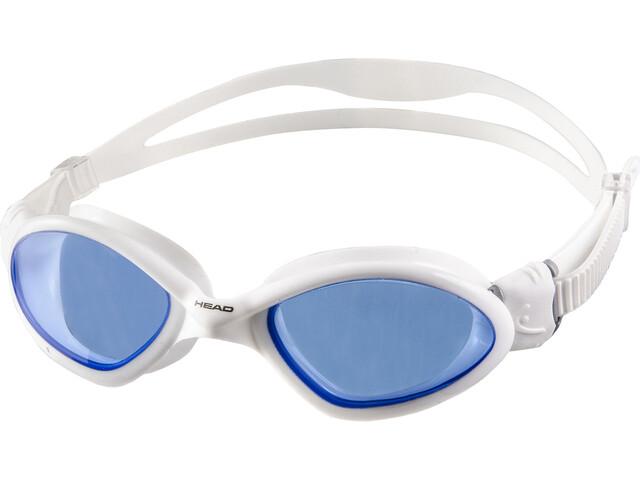 Head Tiger Mid White - Blue